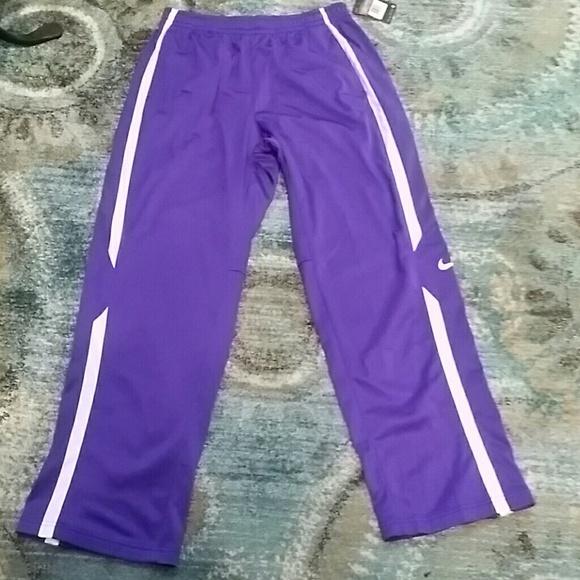 unique style best authentic suitable for men/women NEW Nike Men's purple and white dry fit sweats NWT